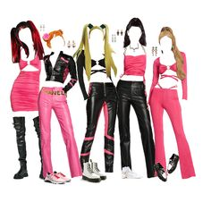 Kpop Fashion Outfits, Stage Outfits, Dance Outfits, Trendy Outfits, Cute Outfits, Brunette Beauty, My Outfit, Kpop Girls, Sexy Dresses
