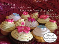 Delicious handmade Lip Balm, hand poured by myself into gorgeous cupcake pots for little princesses. Small 4g $3.50 & Large 10g $6.50 Available in: Strawberry Chocolate Vanilla Hubba Bubba  Also available in stylish aluminium screw top tins, see our other boards for more information