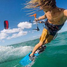 #regram from @blaketheolsen! #photooftheday #kiteboarding