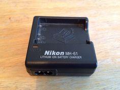 ONLY 4 HOURS LEFT:  Genuine Nikon MH-61 Lithium Ion Battery Charger for Nikon Battery Pack EN-EL5 #Nikon http://www.ebay.com/itm/272032971642