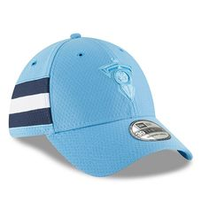 promo code cc19d 5c86f Tennessee Titans New Era 2018 NFL Sideline Color Rush Official Flex Hat –  Powder Blue