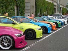 BMW E92 M3 colour spectrum