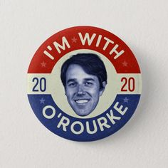 2020 Beto O/'Rourke For President  25 Campaign Buttons Wholesale Free Shipping