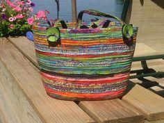 Tote bag by Quilting Lee, via Flickr.