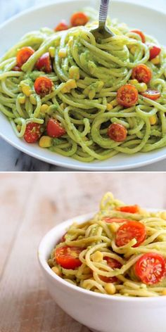 Looking for more summer dinner recipes? Learn how to make Avocado Pasta! Combined with fresh basil, garlic, lemon juice, and olive oil, this creamy pasta recipe is sure to become a favorite. So easy, so good!