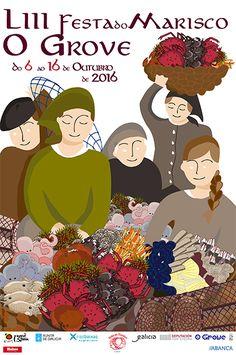 Aldeas e vilas galegas, plataforma dixital de interese - Do 6 ao 16 Outubro - Feira do Marisco no Grove