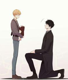 Love is an illusion Manga Anime, Comic Anime, Manga Boy, Fanarts Anime, Manhwa Manga, Boku No Pico, Narnia, Bl Comics, Eren