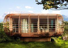 sustainable tourism, eco tourism, green design, eco design, sustainable building, italy, studio aisslinger, FINCUBE, natural ventilation, da...