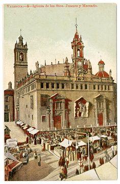 Iglesia de los Stos. Juanes y Mercado, Valencia Palomino, Alicante, Where To Go, Trip Planning, Big Ben, Taj Mahal, Madrid, Scenery, Places To Visit