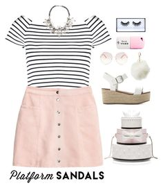 """Like a BOSS    (900 Followers!!)"" by abbes03 ❤ liked on Polyvore featuring Steve Madden, Lipsy, H&M, Kate Spade, Charlotte Russe, Chloé, Huda Beauty and John Lewis"