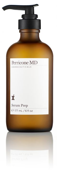Perricone MD Serum Prep - A serum designed to firm and tone skin while smoothing the appearance of fine lines and wrinkles. Perfectly prepares the skin for further treatment. 6 fl oz, $145