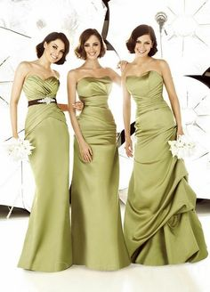 Mermaid Sweetheart Long Satin Bridesmaid Dress and other bridesmaid dresses on this site.