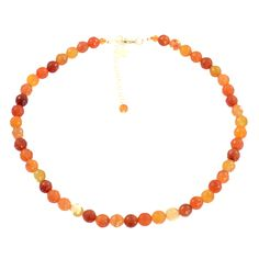 SPARKLY CARNELIAN NECKLACE    Carnelian and sterling silver necklace.     Get the rustic look with this necklace. Matching items available.  ...  Colour: Orange    Size: 43cm     £57.00    http://www.gemjewelleryshop.com/product-information/36/445/sparkly-carnelian-necklace