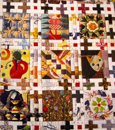 fiberchick: 2001 patchwork blocks...