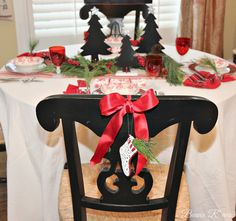 Beaux R'eves: Christmas Brunch Table