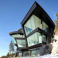 $42 Million Lake House by Mark Dziewulski Architect!