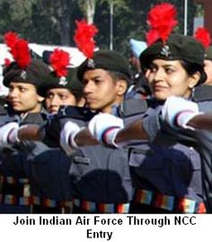One more entry to Join Indian Air force is through NCC special entry