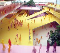 Centro Cultural Luz. SP.   Herzog e de Meuron.