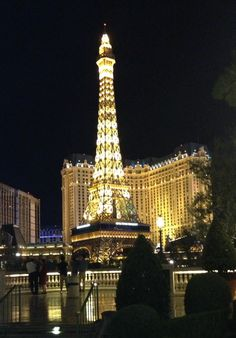 Eiffel Tower Restaurant ~ Las Vegas