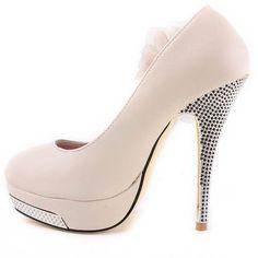 Tan Anthea Heels http://www.iwedplanner.com/user/Weddingshoes-highheelshoes.aspx