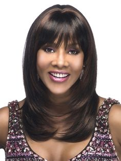 The Vivica Fox Hair Collection has it all. Look red-carpet ready and feel forever fabulous with the hot hair styles in this collection. Natural Hair Wigs, Natural Hair Styles, Long Hair Styles, Wig Hairstyles, Straight Hairstyles, Black Hairstyles, Beauty Hair Extensions, Vivica Fox, Medium Long Hair
