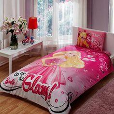 Barbie Glam, Bedding Set, Twin #Tac
