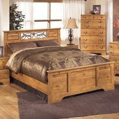 Signature Design by Ashley Bittersweet Queen-size Panel Bed - 16790966 - Overstock.com Shopping - Great Deals on Ashley Beds