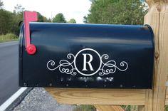 mailbox makeovers   Mailbox Makeover