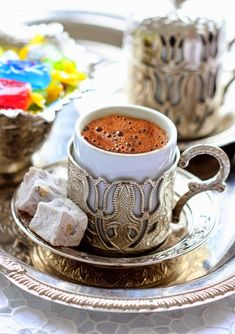 gyclli:    Turkish coffee & Turkish delight    mutfagimdan.com