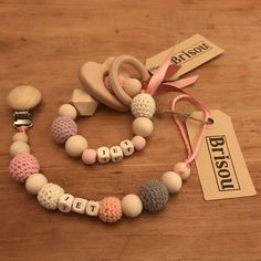 Baby Knitting, Crochet Baby, Diy Bebe, Newborn Toys, Wooden Baby Toys, Baby Gym, Unique Baby Gifts, Baby Teethers, Teething Toys