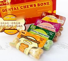 Cute Dog Puppy Pet Different Taste Molar Bone Tooth Cleaning Treat Pet Pet Food Supplies For 5 Colors Option s2