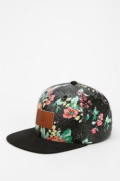 Reason Floral Snapback Hat