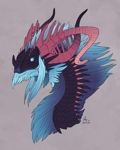 Elder Dragon by xxFuria on DeviantArt