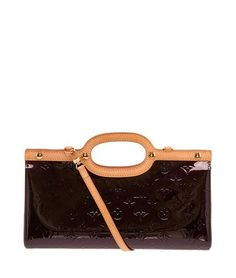Louis Vuitton Amarante Vernis Leather Roxbury (24688) Purple Bag - Satchel.