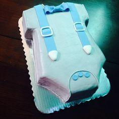 Baby boy onsie #cakes #tasteelicious #cakesofinstagram
