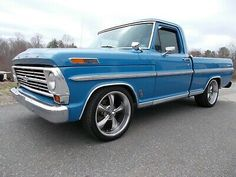 1969 Ford F100, 1966 Chevy Truck, Chevy Trucks, Pickup Trucks, Shop Truck, Open Trailer, Ford Ranger, Classic Trucks, Cool Suits