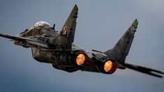 """Burning the air - Polish AF MiG-29 after take off See <a href=""""https://500px.com/michalprokurat/galleries/my-bests"""">My Best</a> and follow hire, on <a href=""""https://www.facebook.com/Michal.Prokurat.action.photos/"""">Facebook</a> and <a href=""""https://www.instagram.com/mp.action.photos/"""">Instagram</a>"""