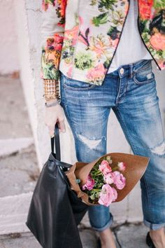 pretty spring outfit