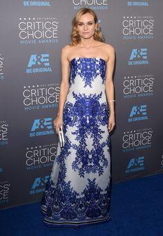 Pin for Later: Die Stars feiern weiter bei den Critics' Choice Movie Awards! Diane Kruger