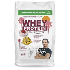 Jay Robb  Grass-Fed Whey Protein Isolate Powder Outrageously Delicious Strawberry 76 Servings (80 oz) Review http://10healthyeatingtips.net/jay-robb-grass-fed-whey-protein-isolate-powder-outrageously-delicious-strawberry-76-servings-80-oz-review/