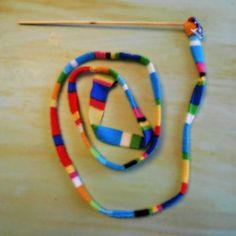 12 Days of Reuse, DIY Cat Toy | DIY Studio