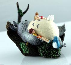 Studio Ghibli Classic My Neighbor Totoro Figures Scene Figurine in Box   eBay