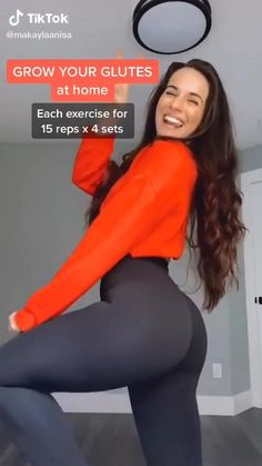 Summer Body Workouts, Body Workout At Home, Fitness Workout For Women, Body Fitness, Fitness Workouts, Ab Workouts, Gym Workout Videos, Gym Workout For Beginners, Butt Workout