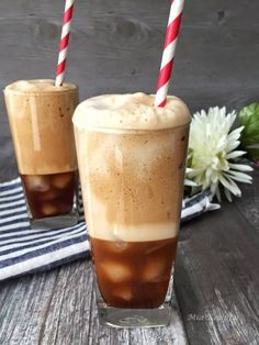 Greek Frappe Coffee... instant coffee,cold water, shake it!