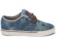 #Globe mahalo #washed denim antique mens #skateboard shoes free post australia,  View more on the LINK: http://www.zeppy.io/product/gb/2/222219925326/