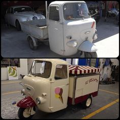 ice cream bike.