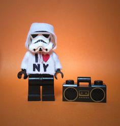 The stormrapper #starwars #stormtrooper #lego