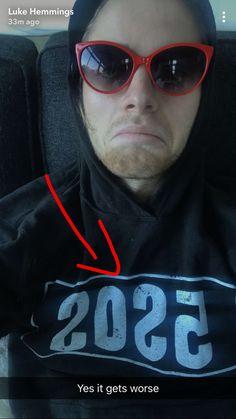 Luke james snapchat