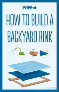 build a backyard rink Now that the cold weather is upon us, here's how your family can build your very own backyard rink in 4 easy steps!Now that the cold weather is upon us, here's how your family can build your very own backyard rink in 4 easy steps! Outdoor Hockey Rink, Backyard Hockey Rink, Rink Hockey, Backyard Ice Rink, Outdoor Skating Rink, Ice Skating, Figure Skating, Hockey Room, Outdoor Games