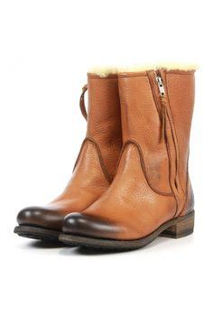 Blackstone Booties Ew74 brown - Vimodos